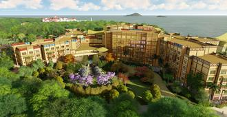Disney Explorers Lodge - Hong Kong - Outdoor view