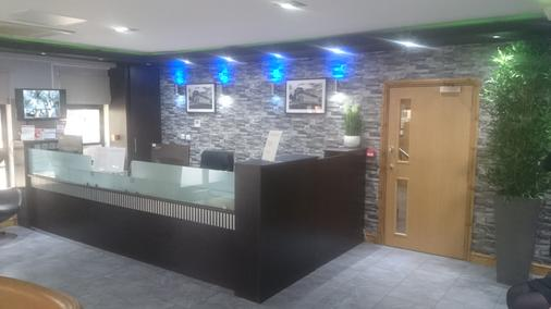 Epsilon Hotel - London - Front desk