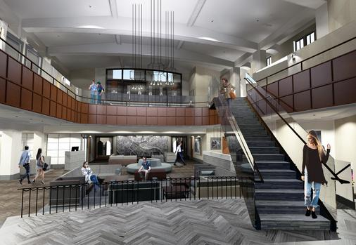 Distrikt Hotel Pittsburgh, Curio Collection by Hilton - Pittsburgh - Lobby
