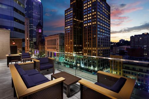 Distrikt Hotel Pittsburgh, Curio Collection by Hilton - Pittsburgh - Rooftop