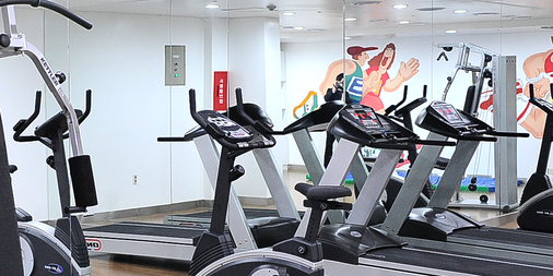 Imperial Palace Boutique Hotel, Itaewon - Seoul - Gym
