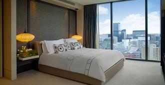 Crown Metropol - Melbourne - Bedroom