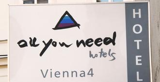 AllYouNeed Hotel Vienna 4 - Vienna - Building
