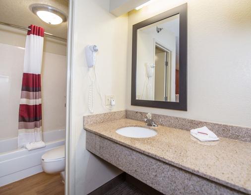 Red Roof Inn Tampa - Brandon - Tampa - Bathroom